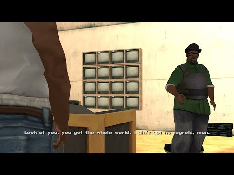 GTA San Andreas - Fat CJ - Ending / Final Mission - End Of The Line (1080p)