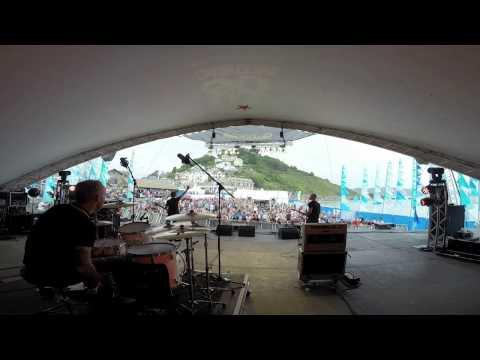 The Arctic Four at Looe Music Festival 2014.