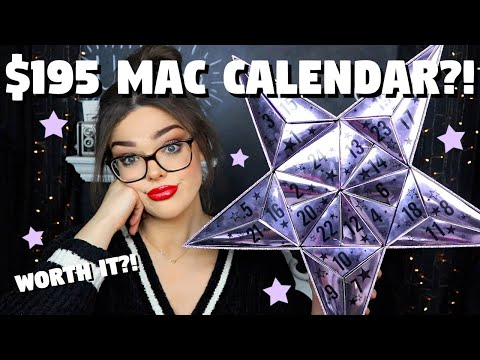 $195 MAC Advent Calendar! NOT What I Was Expecting?! 2019 MAC Advent Calendar Unboxing