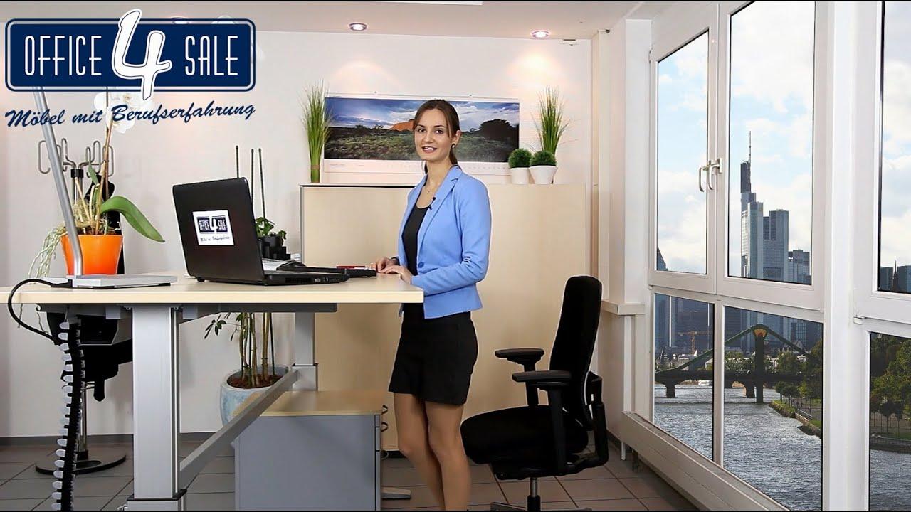 Förderung Eines Orthopädischen Bürostuhls Oder Steh Sitz Arbeitsplatz