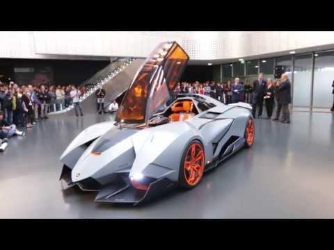Walter de Silva - Presentazione Lamborghini Egoista (MAUTO)