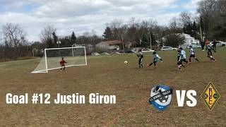 F.C.S.V vs Rivertown U9 Spring Season (2018)