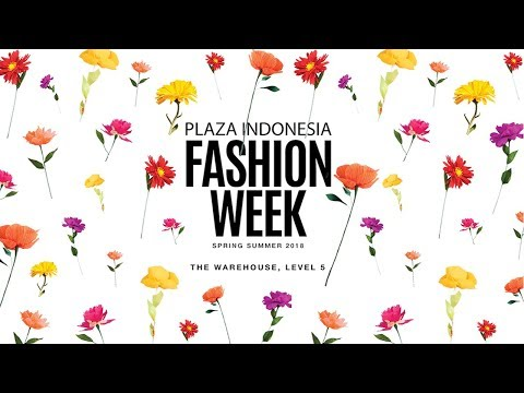 Plaza Indonesia Fashion Week 2018