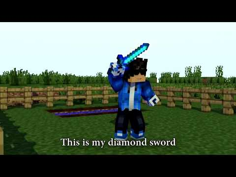 "♫ ""DIAMOND SWORD"" - MINECRAFT PARODY OF DEMONS ♫ [REMASTERED]"