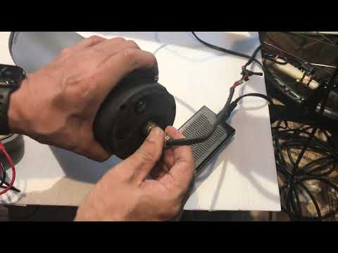 電動自転車モーター用バッテリーチェック
