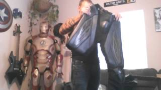 Ud replica nomex batman pre suit unboxing