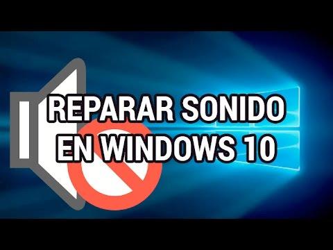 Solucionar problemas de sonido en Windows 10 www.informaticovitoria.com