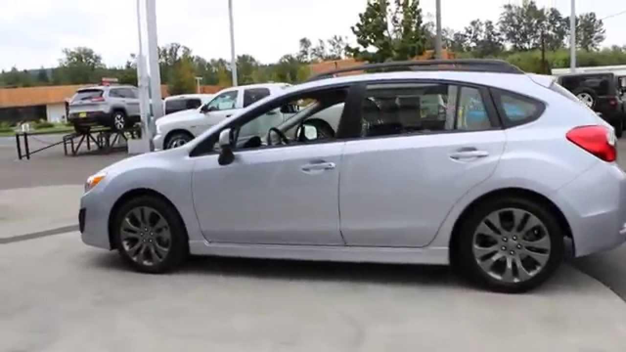 2014 Subaru Impreza 2 0i Sport Limited Ice Silver