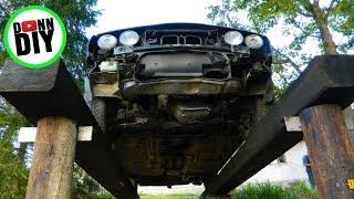 Homemade Car Repair Ramp