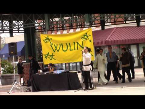 Wulin Institute performs for World Tai Chi Day 2016