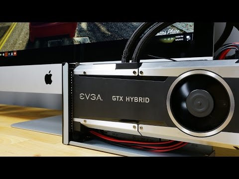A Mac CAN Game! External NVIDIA Graphics Card on iMac