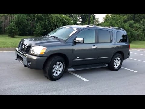 2005 Nissan Armada SE OffRoad Walk Around Test Drive Owner Review POV PLEASE SUBSCRIBE! 95% DONT! TY