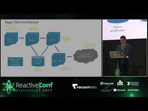 ReactiveConf 2017: Peter Lisy - ReactXP: How We Rebuilt (Almost) All Skype Clients