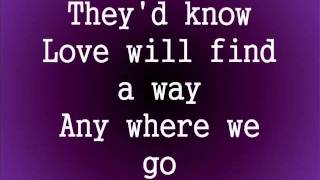 Love Will Find A Way- The Lion King 2 (lyrics)