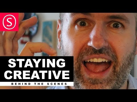 Behind the Scenes - Staying creative as an artist?
