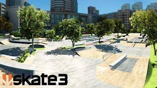 MASSIVE REALISTIC SKATEPARK! - Skate 3 Gameplay