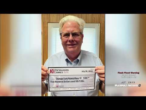 Chautauqua County Ministerial Alliance - DeVaughn James Injury Lawyers WINS for Kansas