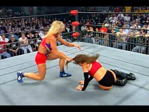 (720pHD): WCW Nitro 03/24/97 - Madusa vs. Malia Hosaka