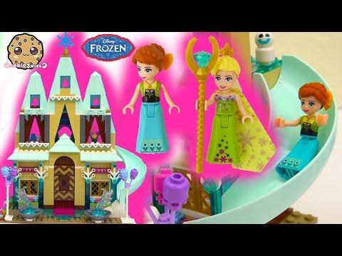 Disney Frozen Fever Arendelle Castle Celebration - Princess Anna Queen Birthday Party Elsa Snowgies