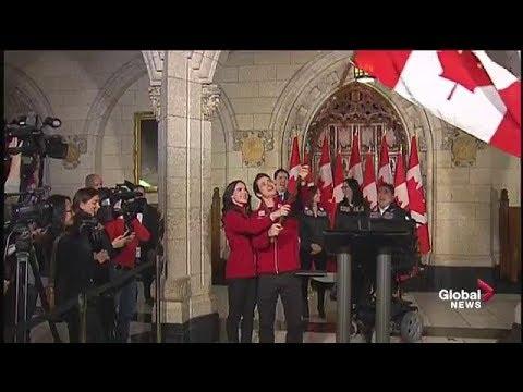 Tessa Virtue, Scott Moir named Canada's Pyeongchang 2018 flag bearers