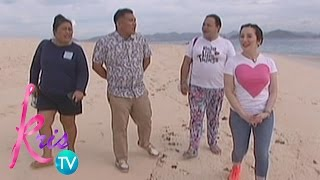 Kris TV: Kris, Darla went to Club Paradise Resort