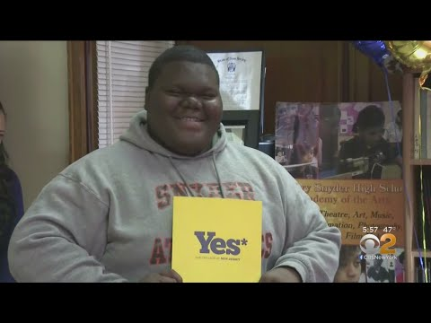 NJ Teen Accepted To 18 Colleges