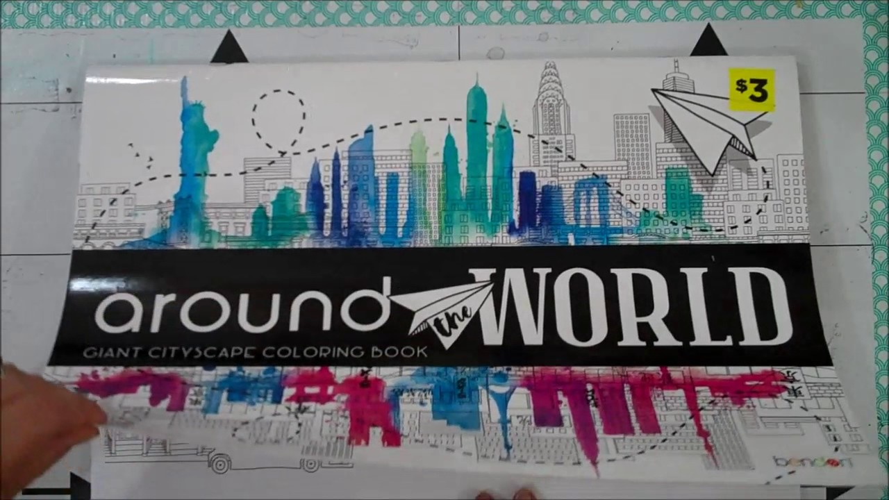 Around the World Coloring Book - YouTube