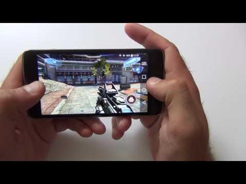 Как идут игры на LG K8 LTE