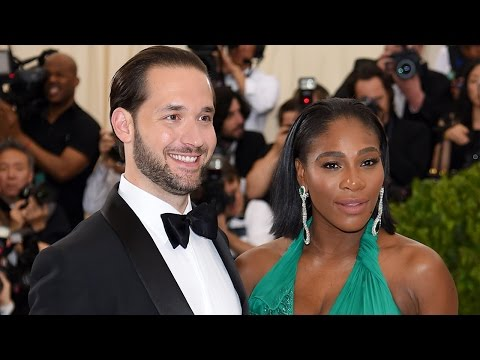 Serena Williams Stuns in Emerald Debuts Pregnant Belly on Met Gala Red Carpet -- See the Pics!