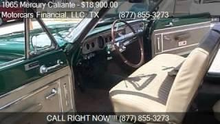1965 Mercury Caliante For Sale Convertible for sale in Headq