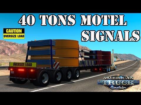 ATS Mods - 40 Tons Motel Signals