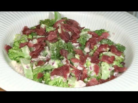 amerikansk salat