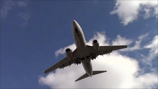Planes in Slow Motion at Bradley International Airport