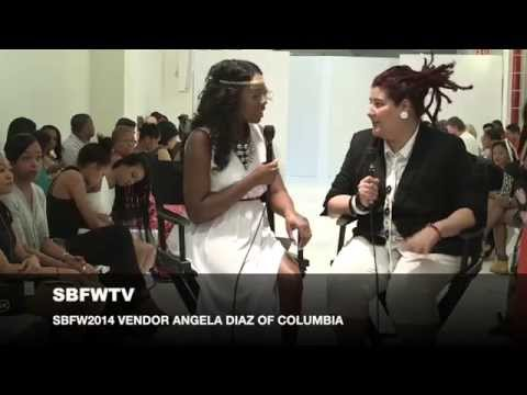 SMALL BOUTIQUE FASHION WEEK TV JEWELRY DESIGNER ANGELA DIAZ