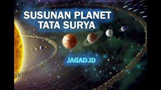 Urutan Planet di Dalam Sistem Tata Surya - Jagad.ID