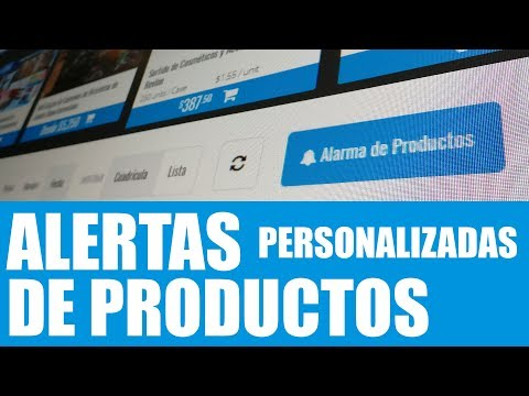 Product Alerts (Spanish)