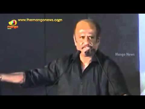 Rajinikanth Makes Fun Of His Pairing With Aishwarya Rai | Rajini Funny Speech | Mango News