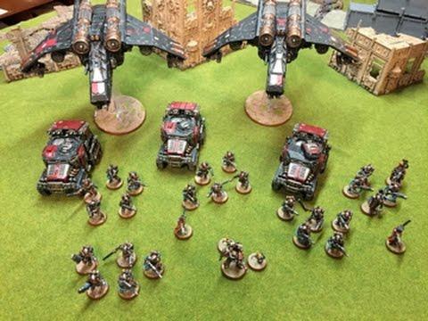 Warhammer 40k Army Showcase Tempestus Scions