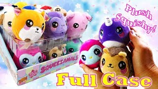 New Squeezamals Collection Animal Plush Squishies Slow Rise