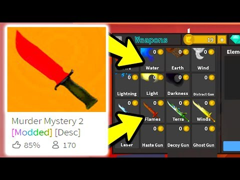 I Played MODDED Murder Mystery and You Won't BELIEVE What I Got.. (Roblox)