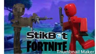 La vida de un Fortnite Stikbot Ep2 La batalla por el arma #lifeofafortnitestikbot