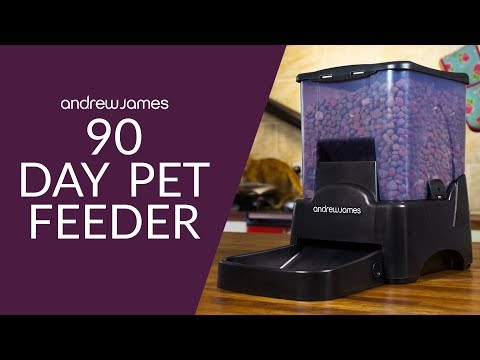 Andrew James 90 Day Pet Feeder