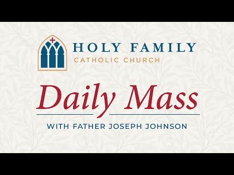 Daily Mass and Chaplet of Divine Mercy, May 1, 2020