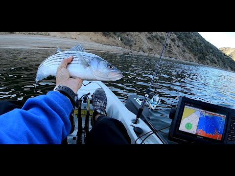 How To Kayak Fish Pyramid Lake (Southern California) For Beginners