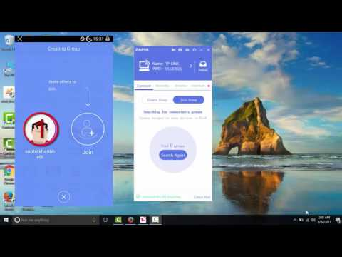 How To Connect Mobile Zapya To Pc