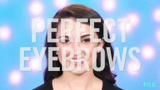KYLIE GLAM: Beauty Bits - How to Get Gorgeous Brows
