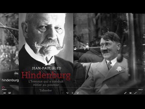 Hindenburg, l'homme qui