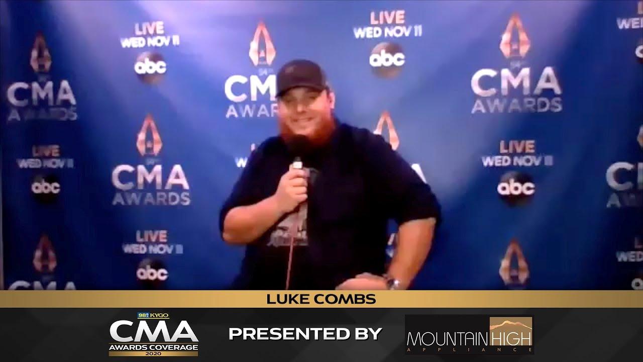 Luke Combs Interview | 2020 CMA Awards