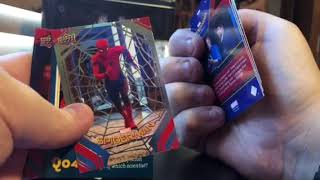 2017 Upper Deck Spider-Man Homecoming Box Break and Review