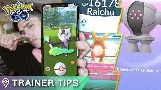 NEW ALOLAN RAID BOSSES ARE HERE! (oh and registeel) ALOLAN MAROWAK & RAICHU IN POKÉMON GO